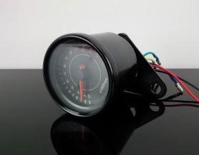 Drehzahlmesser, DZM 60mm, elektrisch, bis 13.000 U/min, schwarz