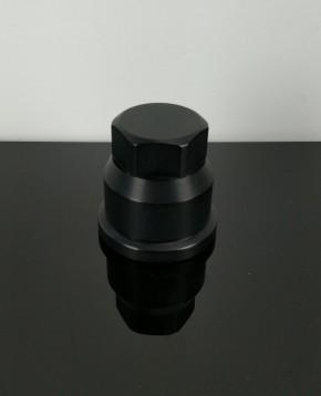 Steuerkettenspanner-ABDECKKAPPE, Alu f. SR/XT 500 schwarz