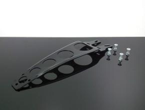 KOTFLÜGELSTREBE aus Aluminium, schwarz, Cross/Enduro