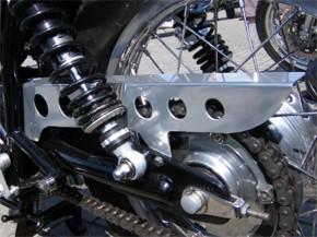 Alu-KETTENSCHUTZ Yamaha SR500/SR 400/500