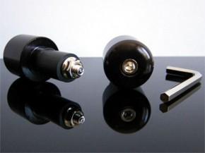 LENKERGEWICHTE Lenkerenden für Stahl-Lenker, schwarz