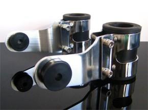 Headlight brackets TOMASELLI style 32-48 mm