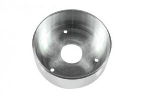 "Outer cup for Speedometer, ""Aussenbecher msc A"" by MOTOGADGET, aluminium, polished"