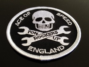 """Ace of Speed - Ton Up"" Patch, Aufnäher"