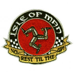 """Isle of Man Grand Prix"" PATCH / Aufnäher"