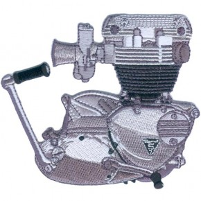 """Triumph Unit Motor"" Aufnäher"