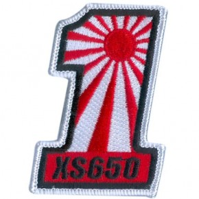"""#1 XS650"" PATCH"