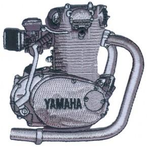 """Yamaha XS 650 Motor"" Aufnäher"