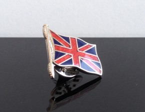 """Union Jack"" Fahne Pin / Badge"