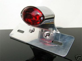Cateye tail-light with alloy holder