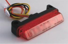 Mini-LED Rückrücklicht/Taillight Streifen, rot, e-geprüft