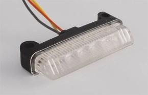 Mini-LED Rückrücklicht/Taillight Streifen, weiss, e-geprüft