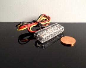 Micro-LED Rücklicht/Taillight Streifen, klar, e-geprüft