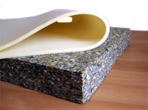 SITZBANK Schaumstoff-Matte/Block 5cm + Kaschierschaum