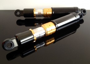 2 Shock absorbers / dampers / shocks with adjustable lenght!