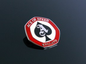 """Ace of Speed"" Cafe Racer Anstecker/Pin/Badge"