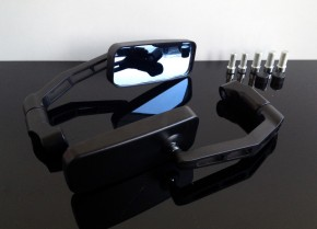 2 Racer MIRRORS, black
