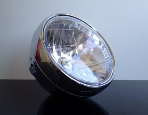 Classic head light/headlamp with clear screen