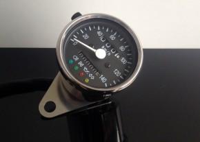 Tachometer/SPEEDOMETER 60mm, mit Kontrollleuchten, K=1,4