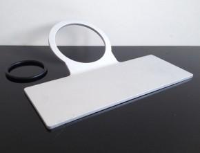 TACHOHALTER f. 60mm-Tachos, universal, Aluminium