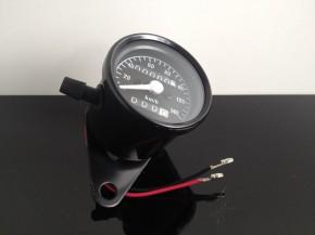 TACHO Tachometer SPEEDOMETER, 60mm, schwarz, K=1,4