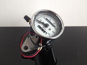 TACHO Tachometer SPEEDOMETER, 60mm, Chrom, K=1,4