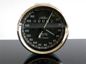 Speedometer SMITH-Style f. Enfield and others. 0-160 km/h