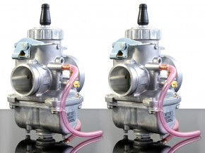 2x MIKUNI VM32 Round Slide Carburetor, for tuned CB 250 / 350