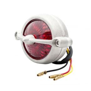 LED-RÜCKLICHT mit Kennzeichenbeleuchtung, Alu, silber