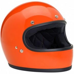 HELM / Integralhelm 70s Orange