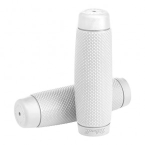 BILTWELL Kung Fu Rubber GRIPS 22mm, white