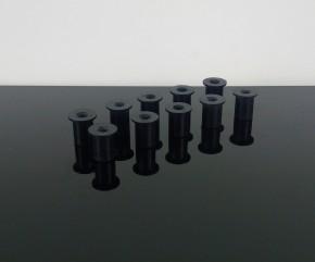 10 Gummimuttern M5