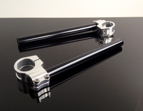 Cafe handlebars, 33mm, alloy. Nice Quality!