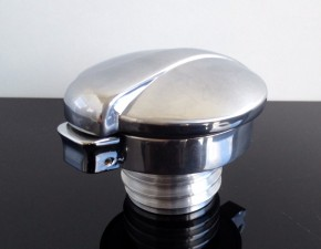 "2,5"" MONZA CAP incl. adaptor for TRIUMPH New Bonneville, Thruxton + Scrambler (2000-...)"
