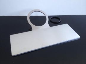 TACHOHALTER f. 48mm-Tachos, universal, Aluminium