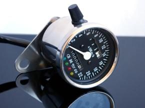 TACHO Tachometer SPEEDOMETER 60mm m.Kontrollleuchten, K=1,4