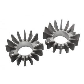 2 KRÜMMERSTERNE, Aluminium f. Yamaha XS650 XS 650