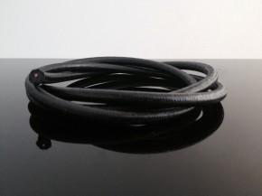 Textilumflochtene Zündkabel 7mm schwarz