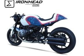 IRONHEAD-Edelstahl-Endtopf BMW R Nine T, 14-