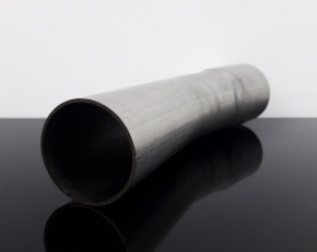 EXHAUST PIPE, bending, stack, stainless steel, 15 degree, app. 42mm