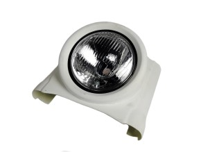 """""""JvB-moto"""" REFLECTOR COVER/Headlamp mask with H4 beam unit, universal"""