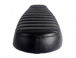 Scrambler SITZBANK, schwarz, passend für unsere BMW Heckrahmen (HR-BD/BM/BP)