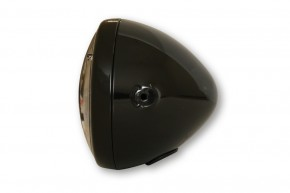 LED-SCHEINWERFER von HIGHSIDER, hochglanz schwarz, E-geprüft