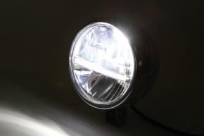 HIGHSIDER 5 3/4 Zoll LED-Hauptscheinwerfer JACKSON, untere Befestigung