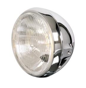 SHIN YO 7 inch main headlight BRITISH STYLE, chrome