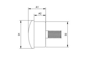 HIGHSIDER ROCKET LED Blinker/Positionsleuchten Einheit, schwarz
