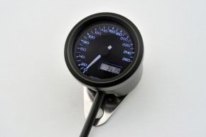 DAYTONA VELONA, Digitaler Tacho, bis 260 km/h, rund Ø 48 mm, schwarz