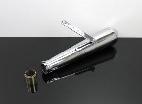 Günstiger Megaphon AUSPUFF Stahl verchromt