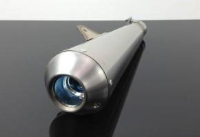 "AUSPUFF ""Megaphone"" 400mm Edelstahl"
