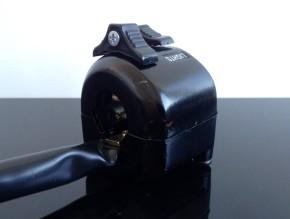 Lenker-ARMATUR im Yamaha-Stil, ALUMINIUM schwarz